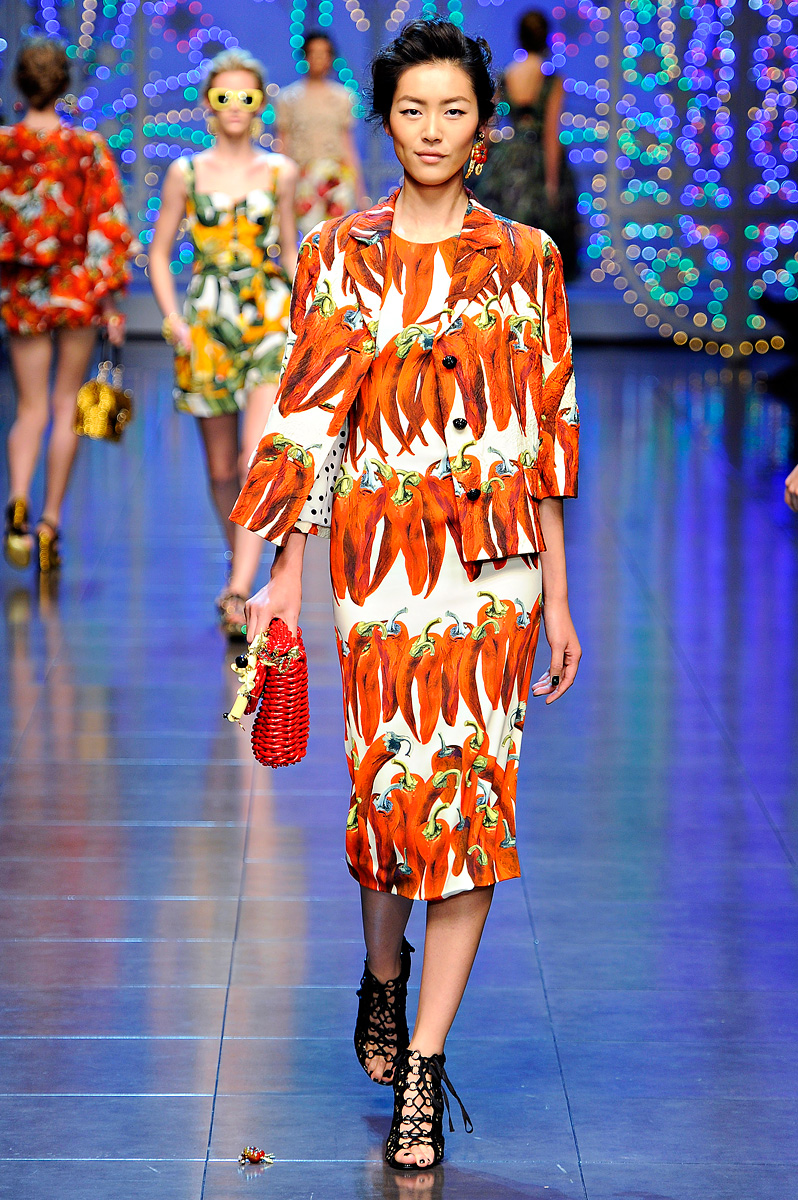 Dasha's Fashion: Dolce & Gabbana Spring-summer 2012