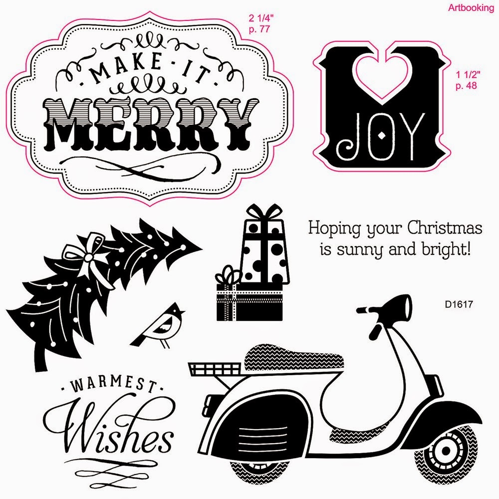 Make It Merry stamp set