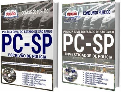 Apostila Concurso PC-SP 2018 - Policia Civil de São Paulo