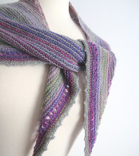 Robin Ulrich Studio New Knitting Pattern Katriel Shawl