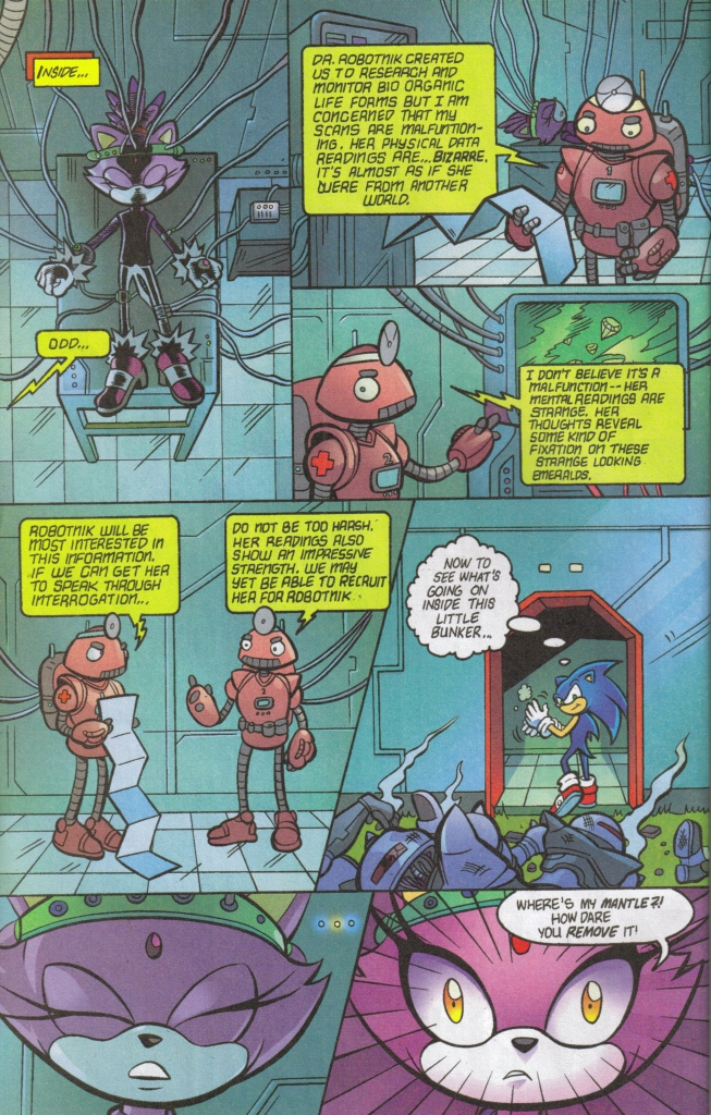 Read online Sonic The Hedgehog comic -  Issue #160 - 30