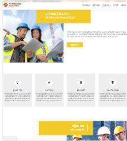 Theme template blogspot công ty dịch vụ