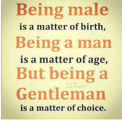 Being Male Is A Matter Of Birth Quotes And Sayings