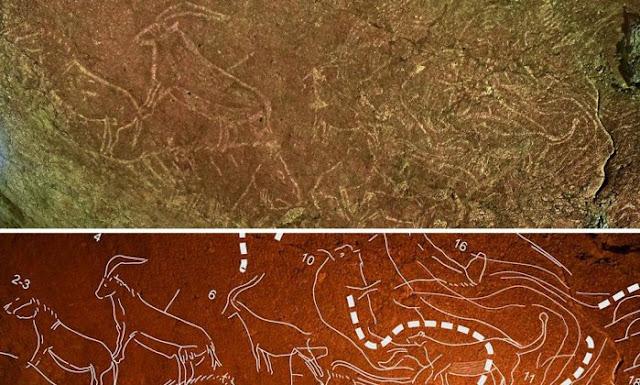 Arqueólogos encontram gravuras de 14 mil anos na Espanha