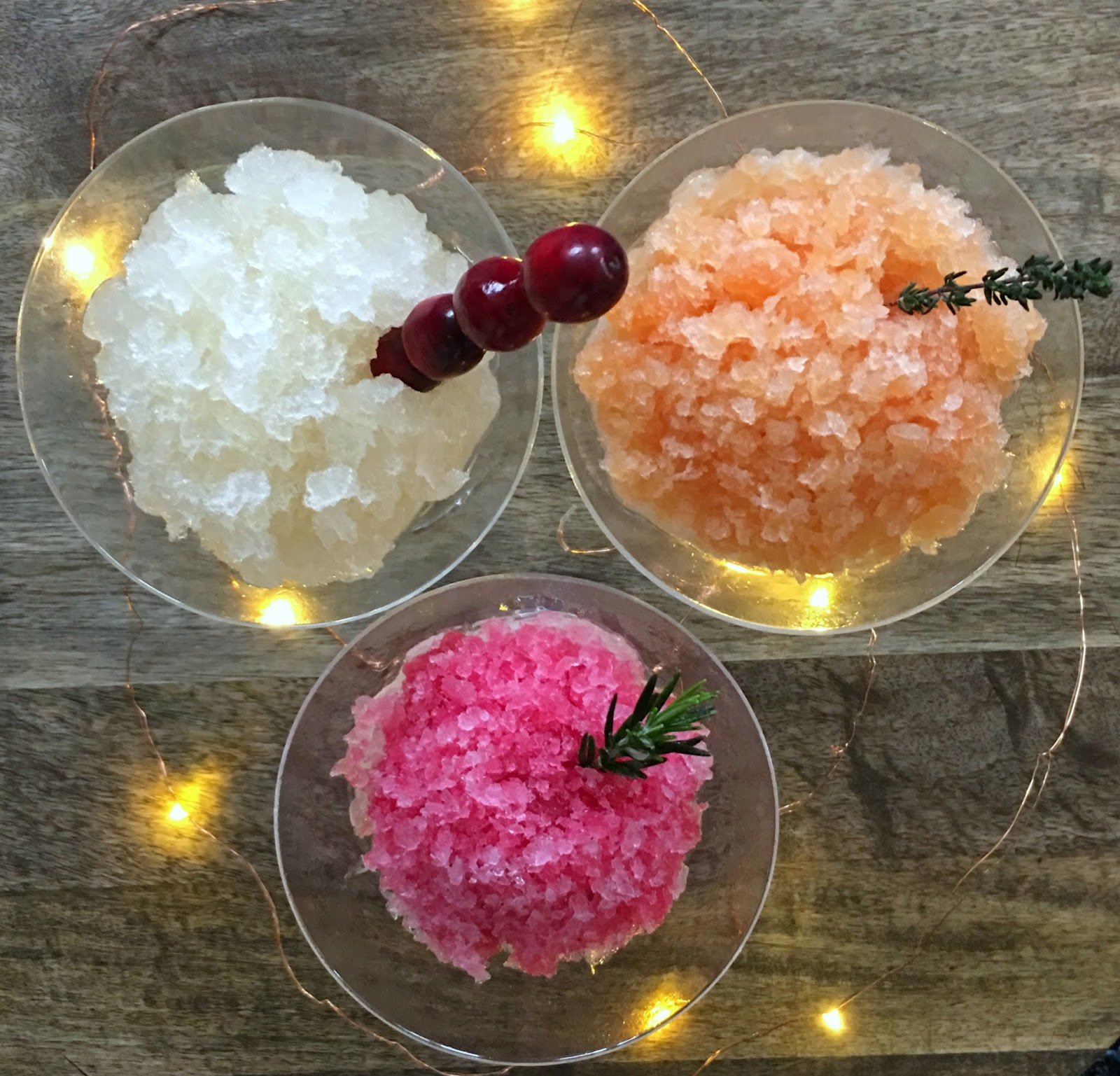 Seasons Granitas! Festive Holiday Granita Recipes, perfect Christmas ...