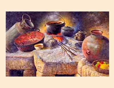La cocina colonial