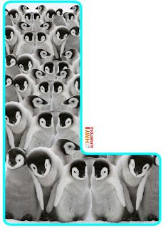 Abecedario con Pingüinos Bebé. Baby Penguins Abc.