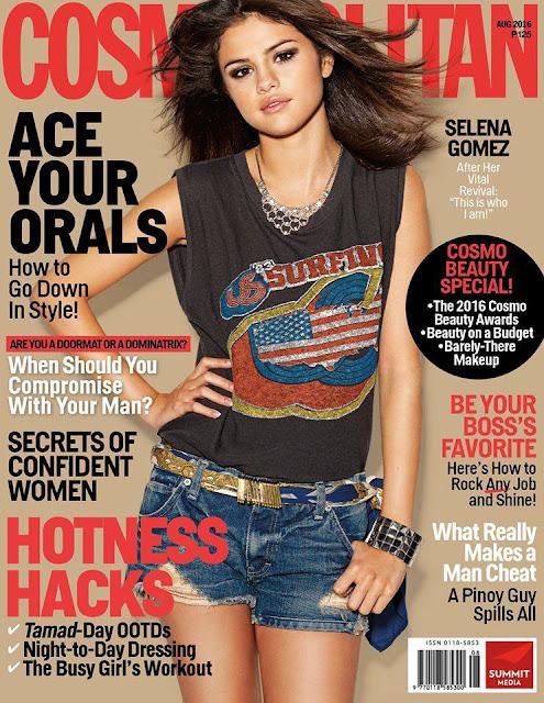 Selena Gomez Cosmopolitan August 2016 Download