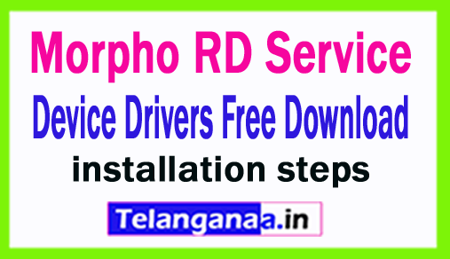 Morpho RD Service Device Drivers Free Download