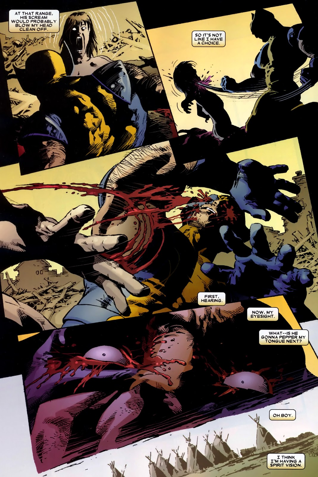 Read online Wolverine (2003) comic -  Issue # Annual 2 - 27