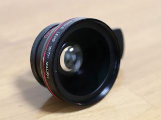 kd003 【ノーブランド品】スマートフォン カメラレンズキット 0.45x広角レンズ クリップ式 レンズ iPhone/android対応
