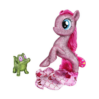 My Little Pony the Movie Glitter-Covered Pinkie Pie Seapony Brushable