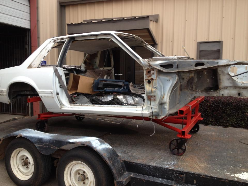 Whiteboy's Mustangs: 1989 Mustang coupe PARTS CAR