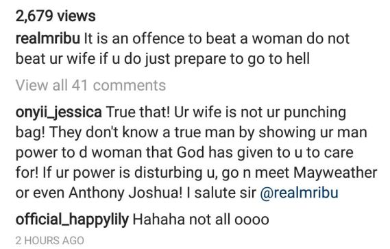 "unnamed ""If You Beat Your Wife, Just Prepare To Go To Hell"" - Mr Ibu"