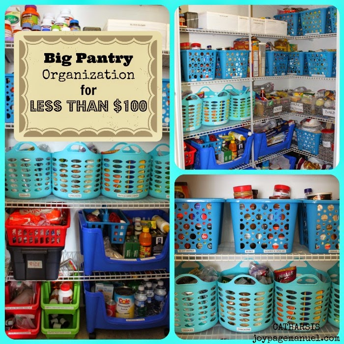 Catharsis Big Pantry Organization For Less Than 100