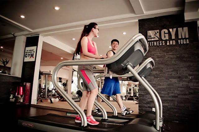Phòng tập gym hiện đại dự án New Space Giang Biên