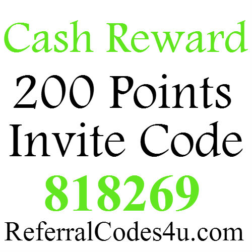 CashReward Invite Code 2016 (200 Points Bonus) Cash Rewards Referral Code