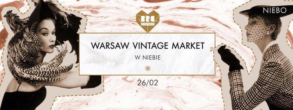 Targi mody vintage WARSAW VINTAGE MARKET 2017, recenzja z targów vintage, blog modowy, ubrania i biżuteria vintage retro