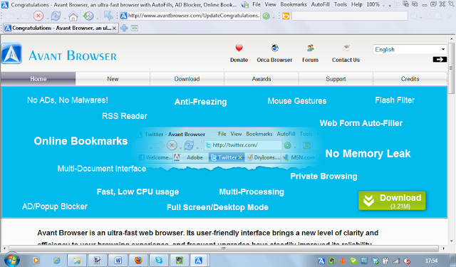 Free Download Avant Browser Latest