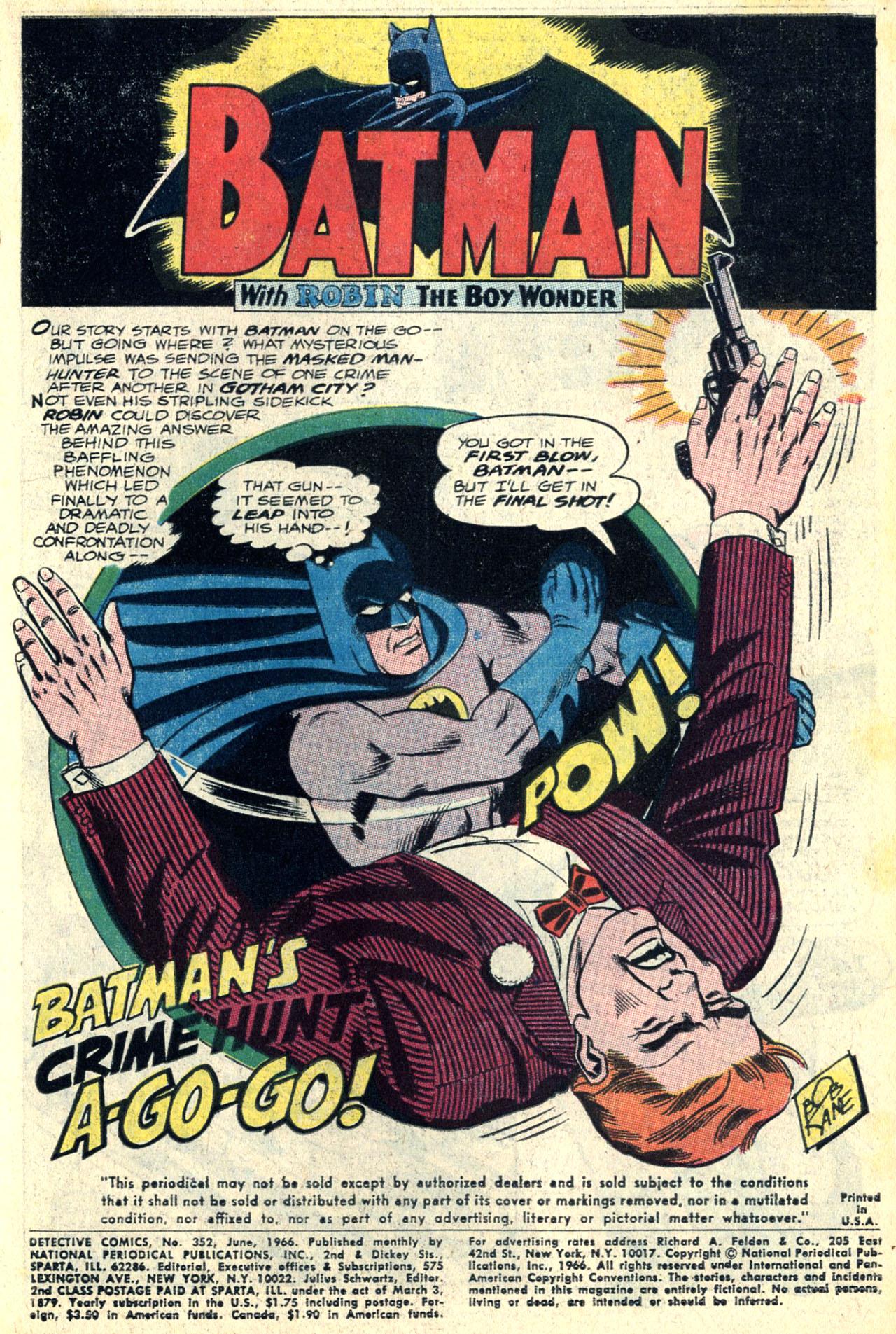 Detective Comics (1937) 352 Page 2