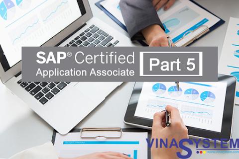 Bộ câu hỏi chứng chỉ SAP Business One (Phần 5)