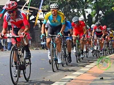 Balap sepeda kelas Individual Road Race Men Asian Games 2018 di Subang