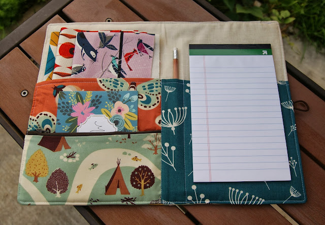 Birch Fabrics Fort Firefly Organizer by Fabric Mutt