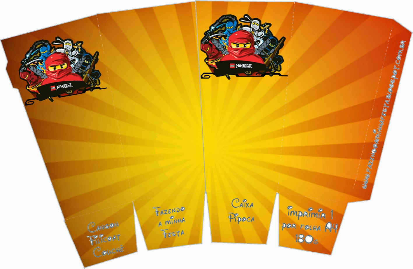 Ninjago Free Printable Boxes Oh My Fiesta! For Geeks