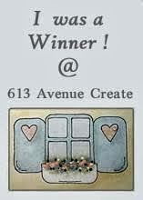 I am lucky winner at  613 Avenue Create