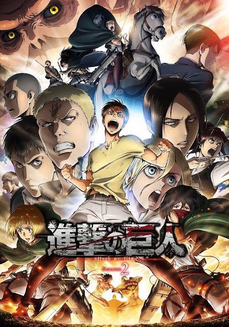 L'attaque des Titans Saison 2, Wit Studio, Hajime Isayama, Actu Japanime, Japanime,