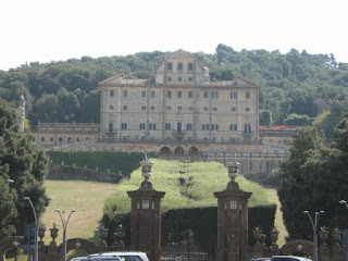 The Villa Aldobrandi in Frascati