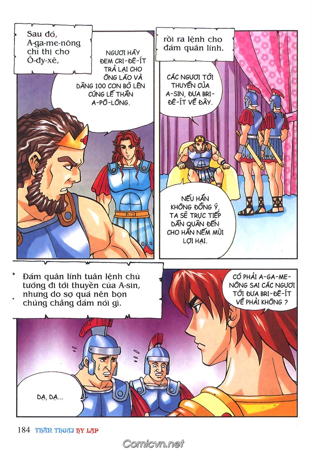 Thần Thoại Hy Lạp Màu - Chapter 56: Hai vị tướng và hai mỹ nữ - Pic 37