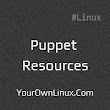 Puppet Resources and Types