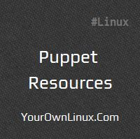 puppet-resources-and-types
