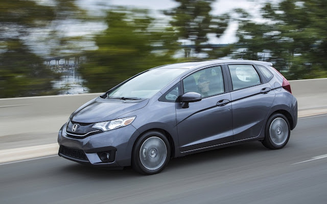 2016 Honda Fit grey