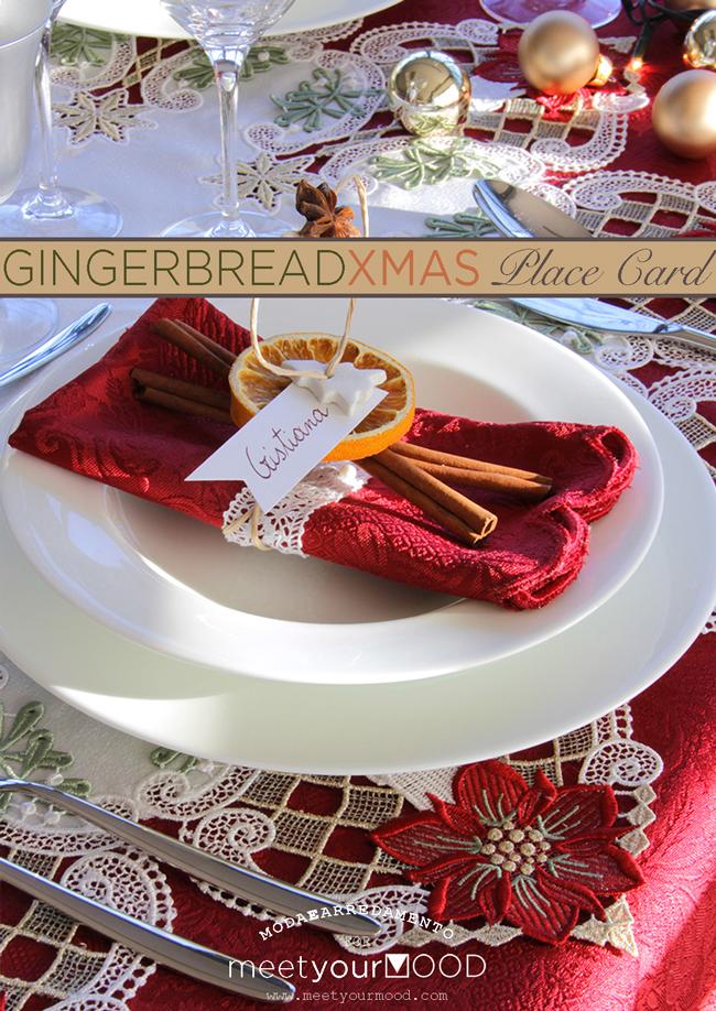 Segnaposto Natalizi Con Cannella.Gingerbread Christmas Mood Br Il Tutorial Di Oggi E Un Segnaposto