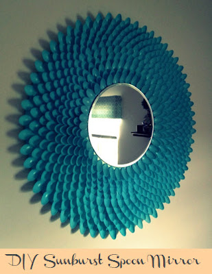 Be Chic Be Classy Be Creative Diy Sunburst Spoon Mirror
