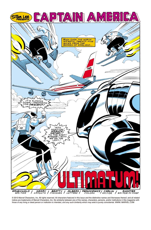 Captain America (1968) Issue #321 #249 - English 2