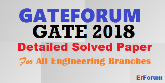 gateforum-gate-2018-solved-paper