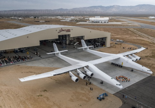 Tinuku Microsoft Co-Founder Paul Allen launches Stratolaunch plane