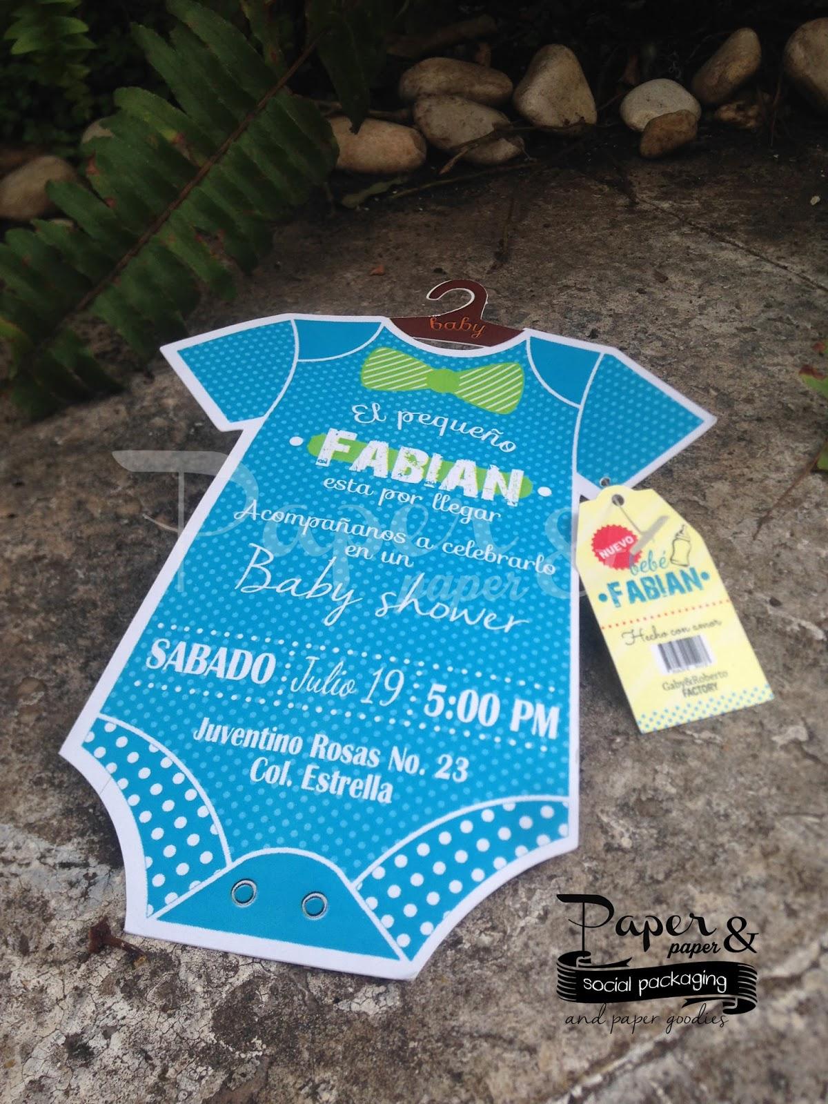 Invitaciones Originales Para Baby Shower