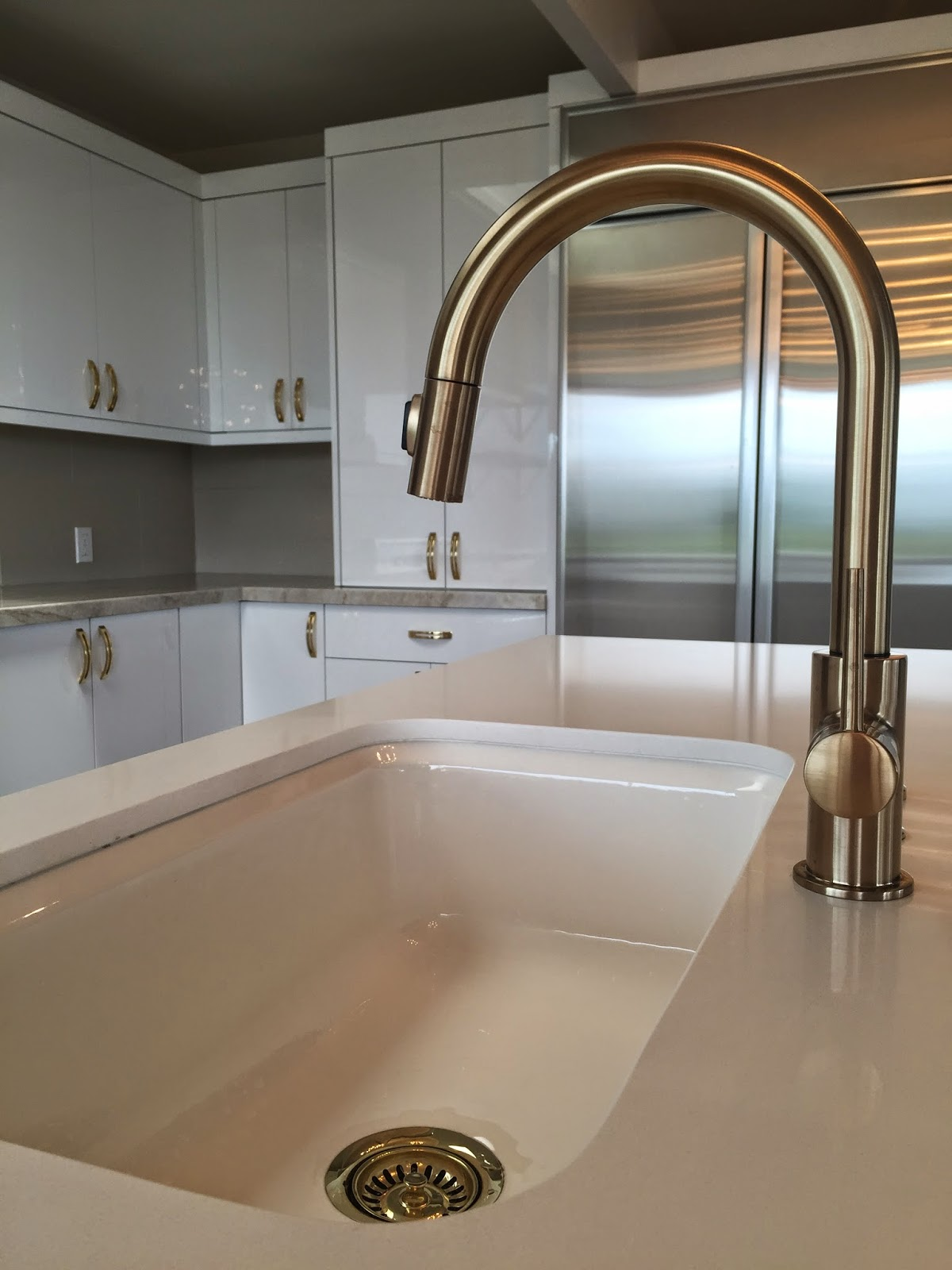 project beautify grove delta trinsic kitchen faucet And then there s the fireplace