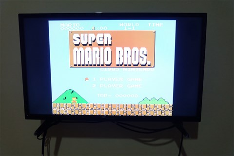 Super Mario Bros Nintendo Entertainment System