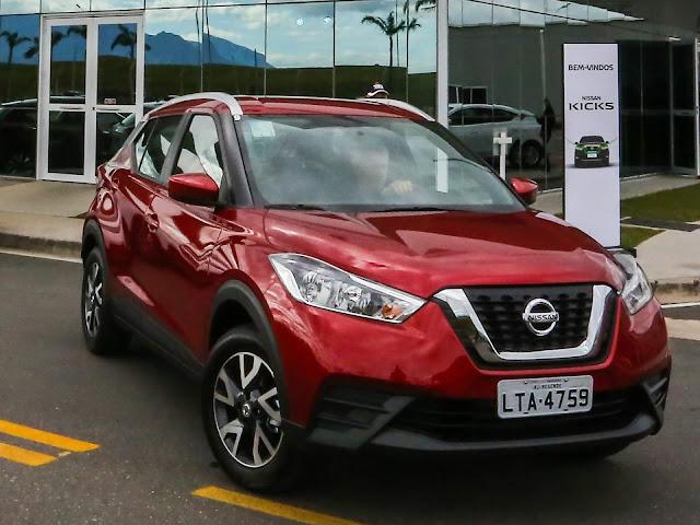 Nissan Kicks S CVT (Automático) 2018