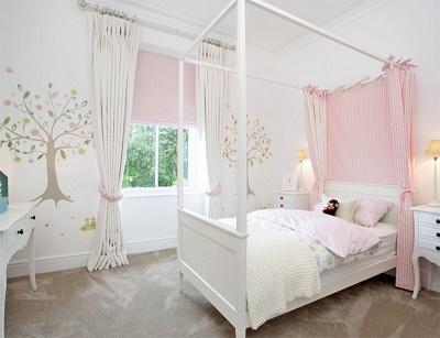 Cuartos para ni as en rosa dormitorios colores y estilos for Cuarto lleno de rosas