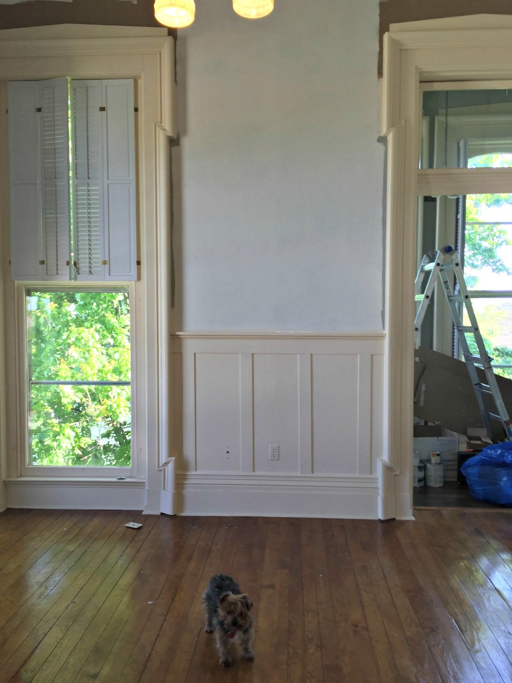 DIY Board and Batten with Hot Glue - Rachel Teodoro