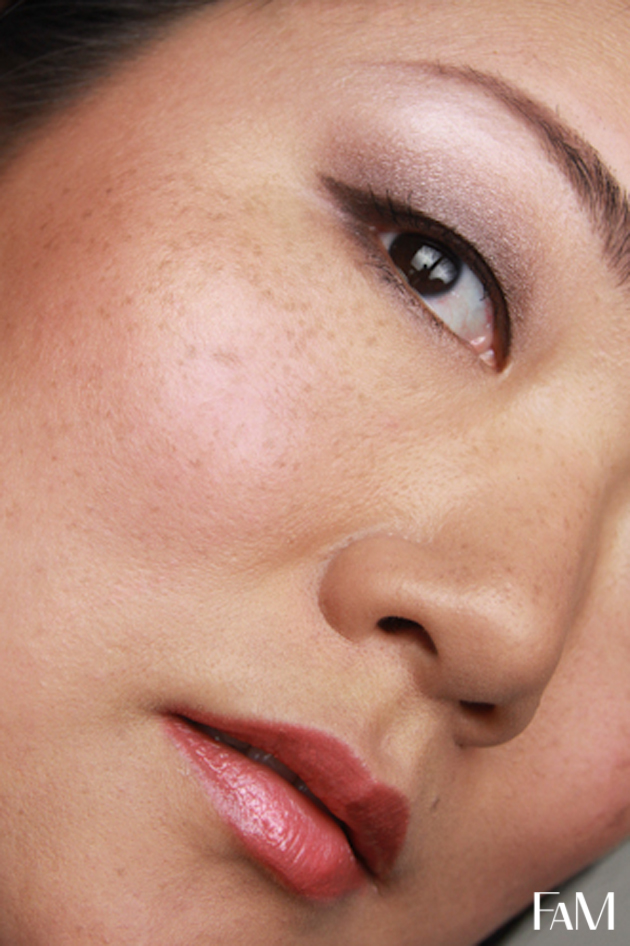 My Current Everyday Makeup With Mac Satin Taupe For Asian