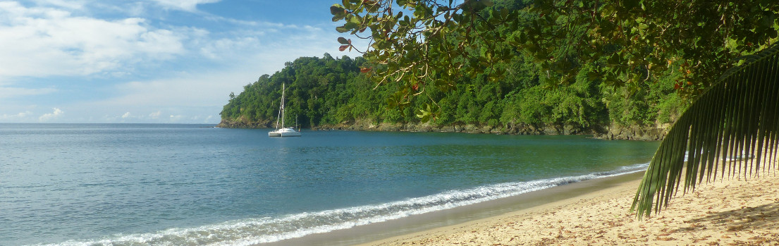 25. Oktober - English Man Bay, Tobago