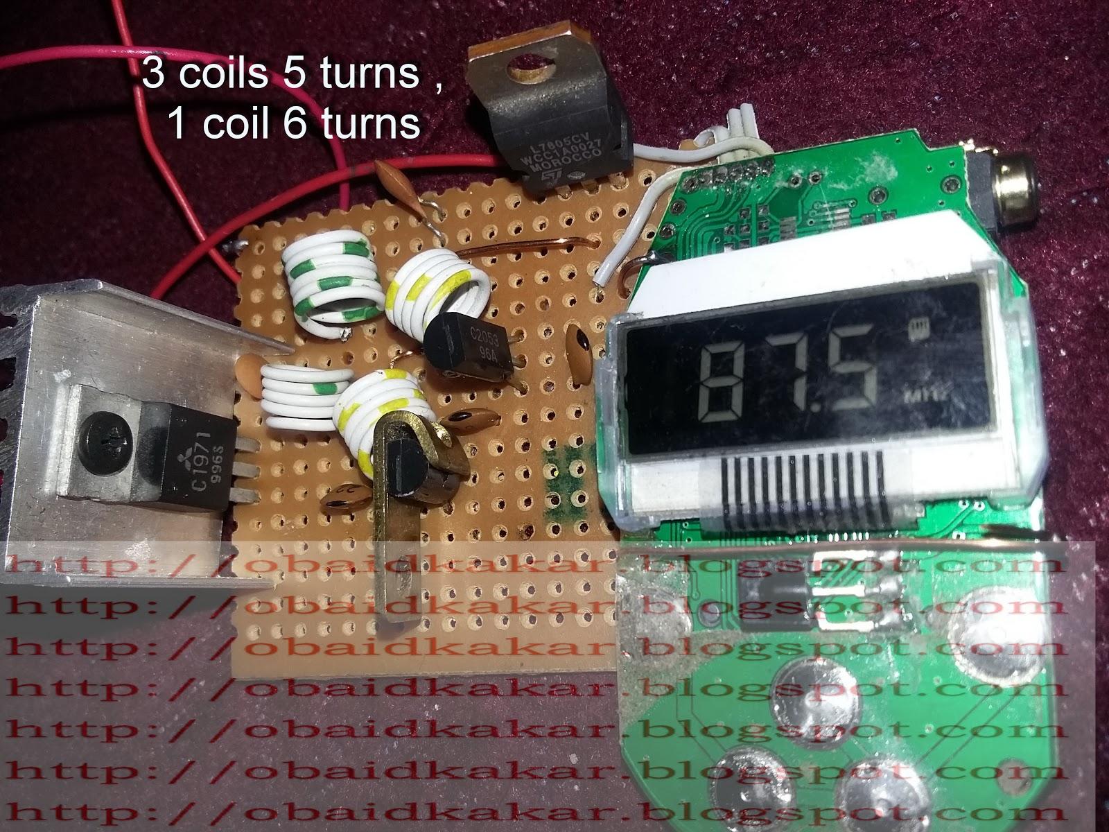 Ksf Electronics Fm Transmitter 6 Watts Mhz Circuit Good Basic Low Power Kit