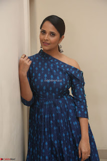 Anchor Anasuya in a Blue Gown at Jai Lava Kusa Trailer Launch ~ Exclusive Celebrities Galleries 055